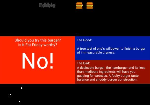 FCC Burger