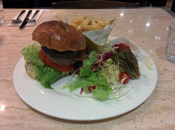 Beef Portobello Bacon Burger
